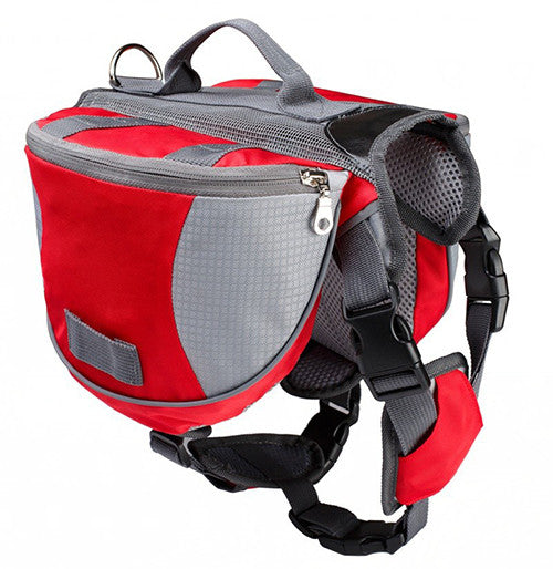 Hiking Saddle Bag Rucksack for Medium & Large Dog