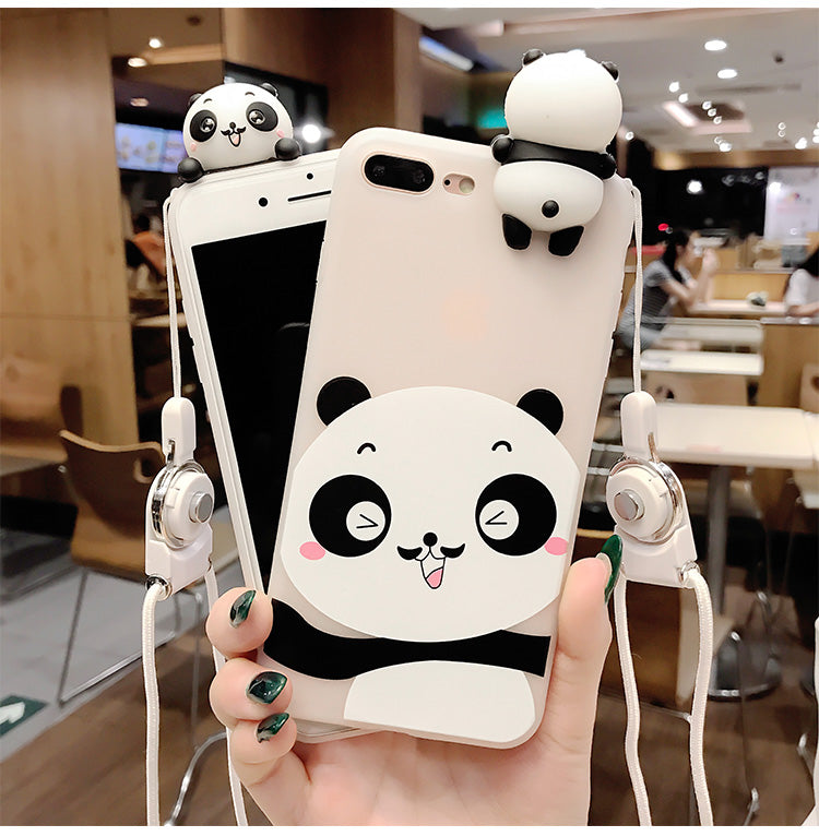 Panda 3D Phone Case [iPhone]