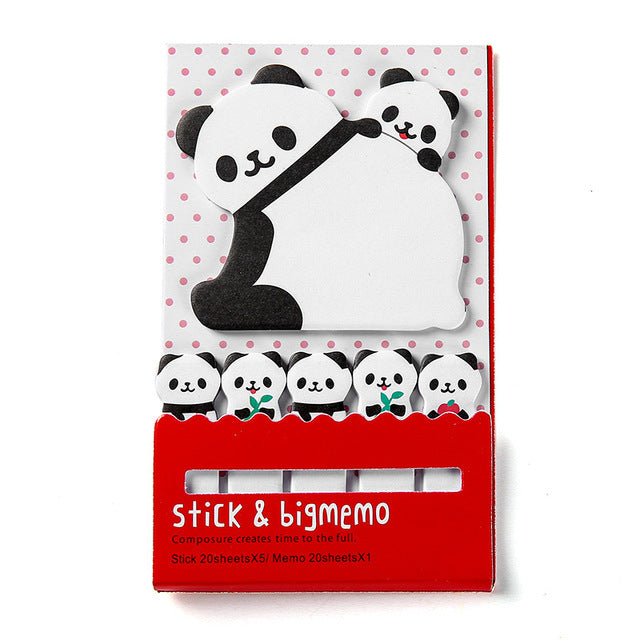Panda Cute Kawaii Sticky Notes