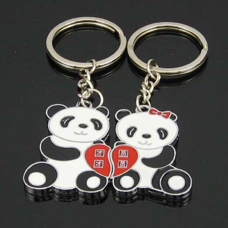 Panda Keychain 2018 BestFriend Gift [2 pcs/set]