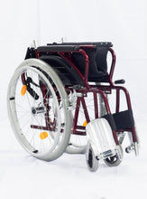 ALFD2262 Aluminum Travel Wheelchair