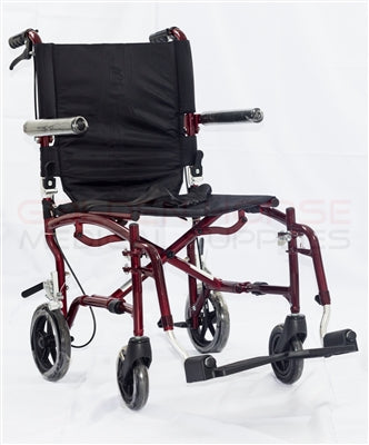 ADO10 Aluminum Travel Wheelchair
