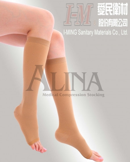Alina Compression Stockings,Knee high,Light Compression