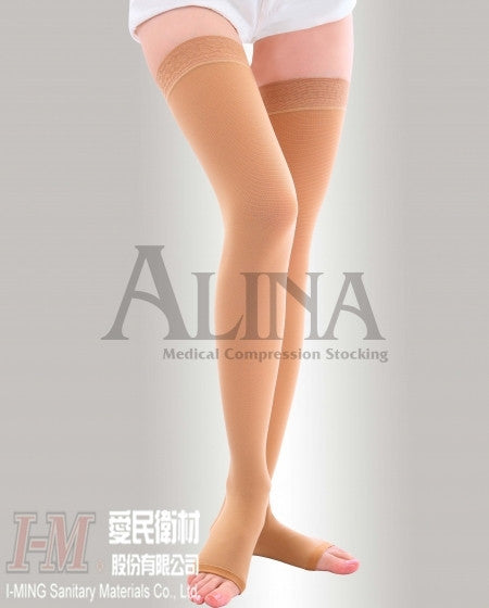 ATH2030 Alina Compression Stockings Thigh High, Medium Compression