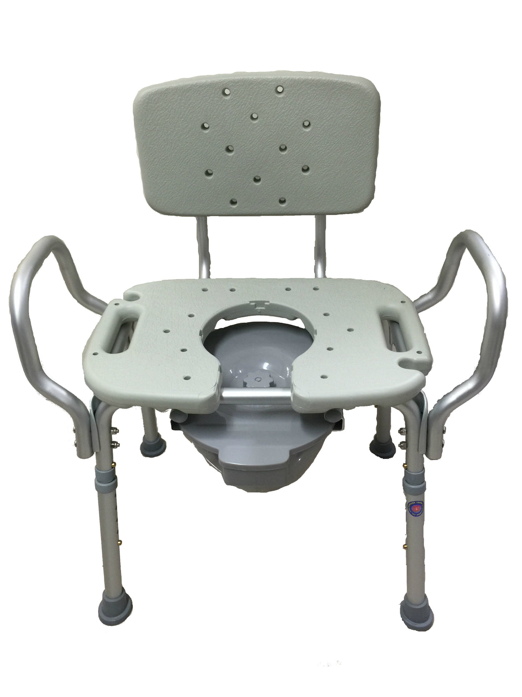 3 in 1 Obese Aluminum Commode Chair – Golden Horse Medical Supplies