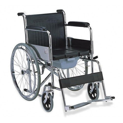 608 Commode Wheelchair