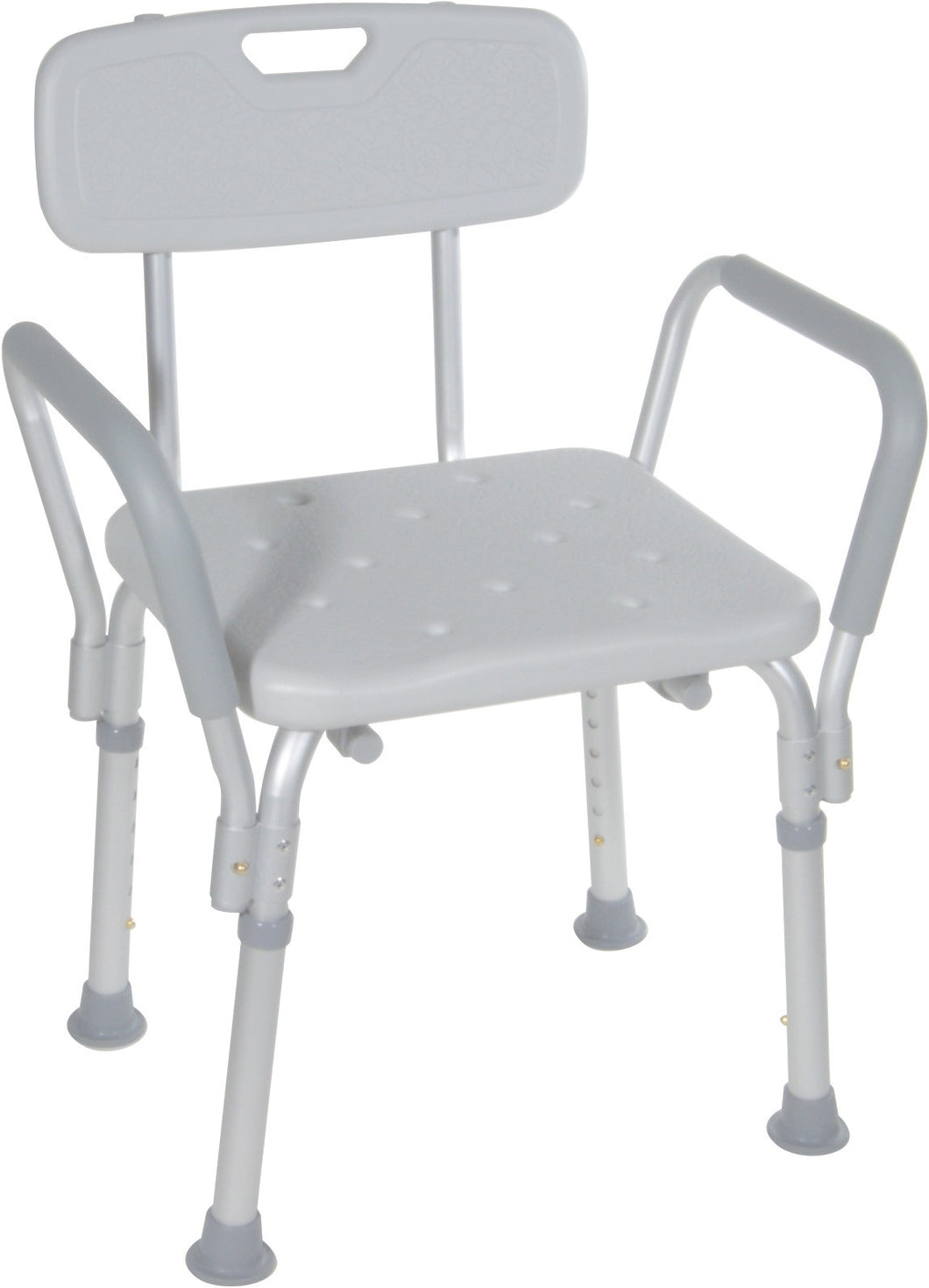 Aluminum Shower Chair with Back and Handles