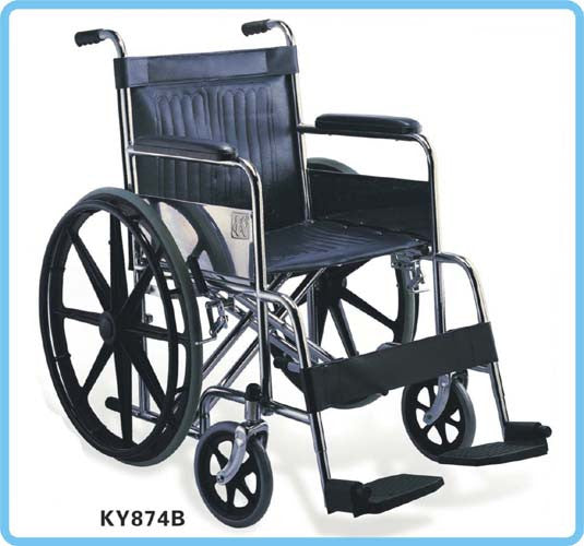 874B46 Heavy Duty Wheelchair