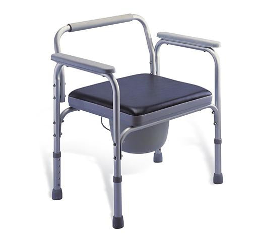 KY895L Obese Aluminum Commode Chair