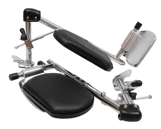 Detachable Elevating Footrest for Prime Mobility Wheelchairs