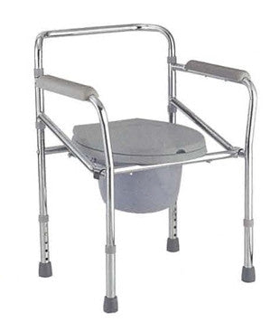 MT894 Economy Folding Commode Chair