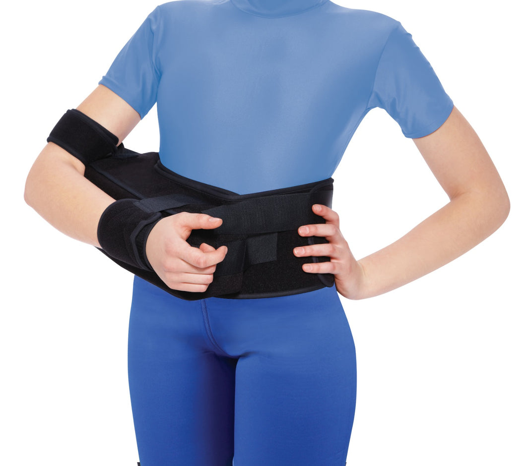 OH327 Bolstered Abduction Arm Immobilizer