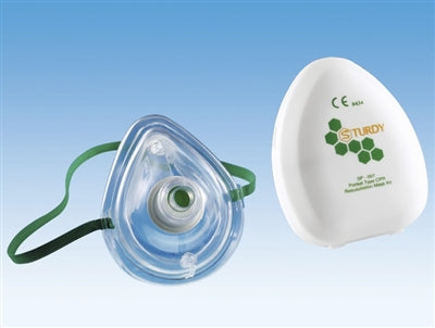 SP007 CPR Mask with Carrying Case