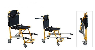 SS Stair Stretcher with Safety Straps