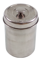 Stainless Jar with Cover