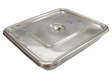 Stainless Tray with Cover