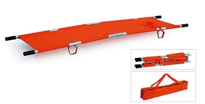 TFS Two Fold Stretcher with Safety Straps