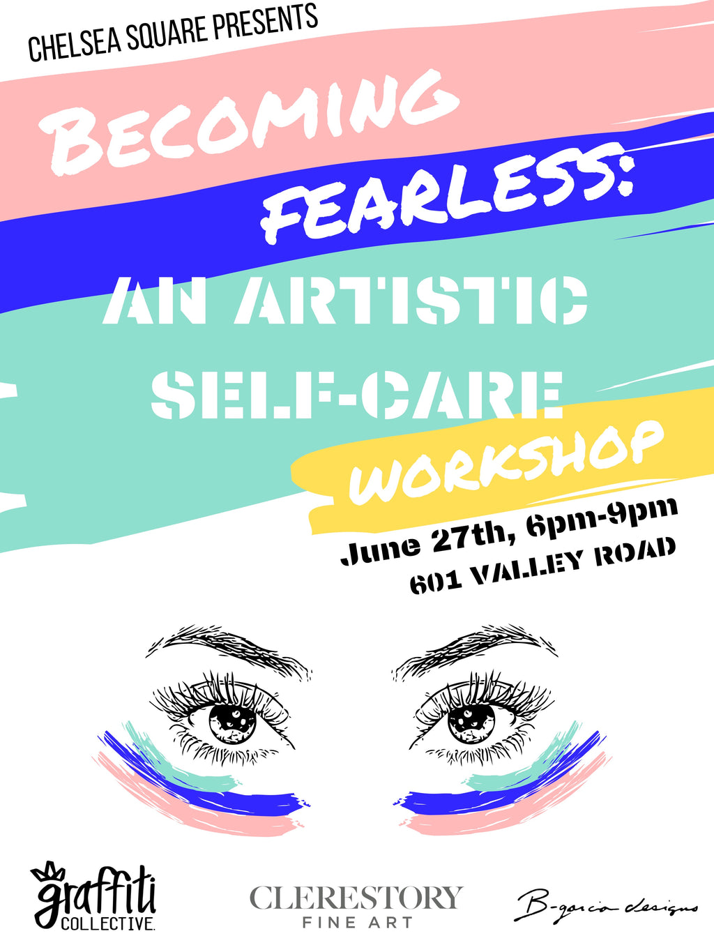 Becoming Fearless: An Art-Inspired Self-Care Workshop