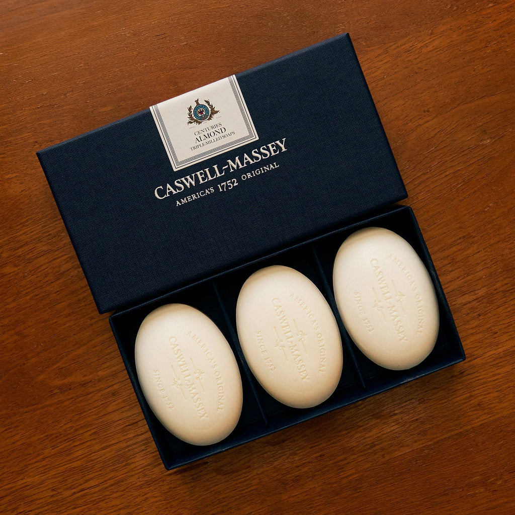 Centuries Almond Three-Soap Set