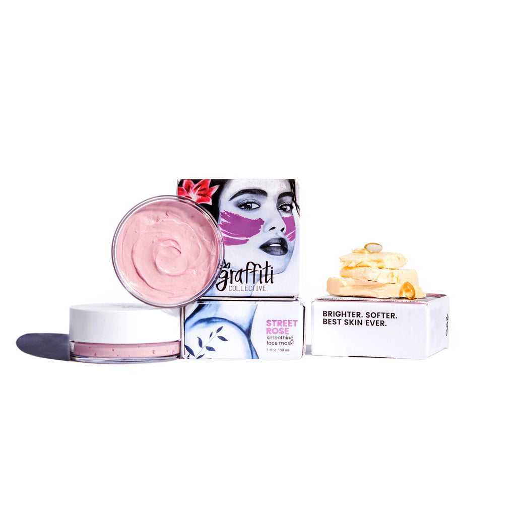 Street Rose Soothing Face Mask 3oz