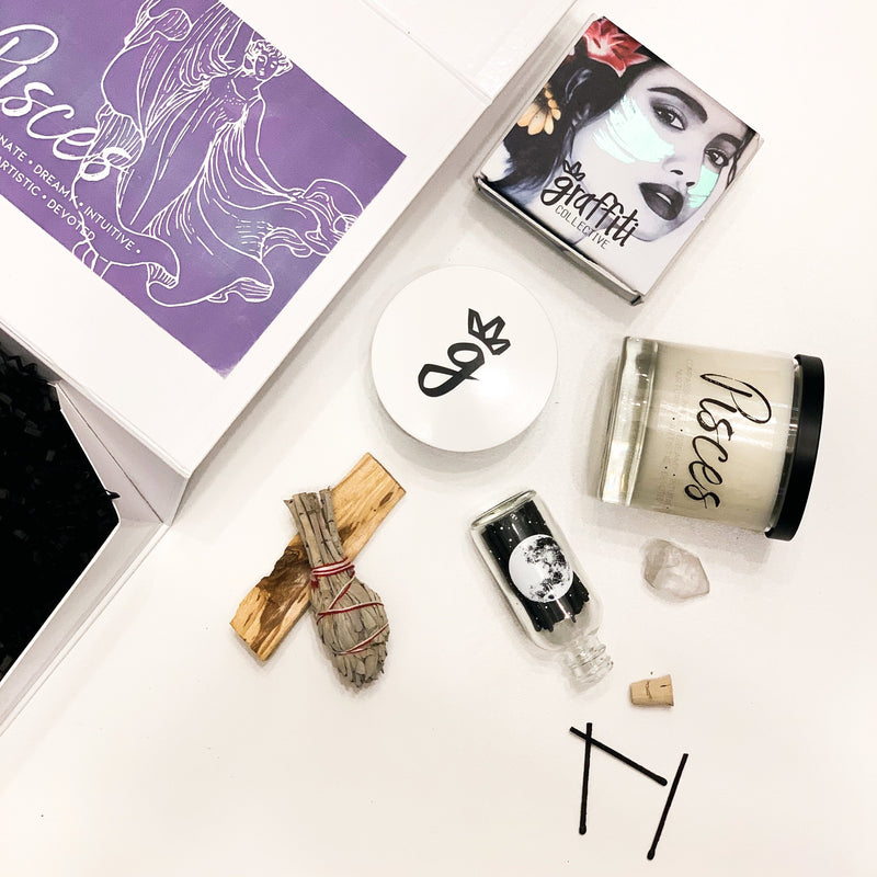 Pisces Self-Care Gift Set