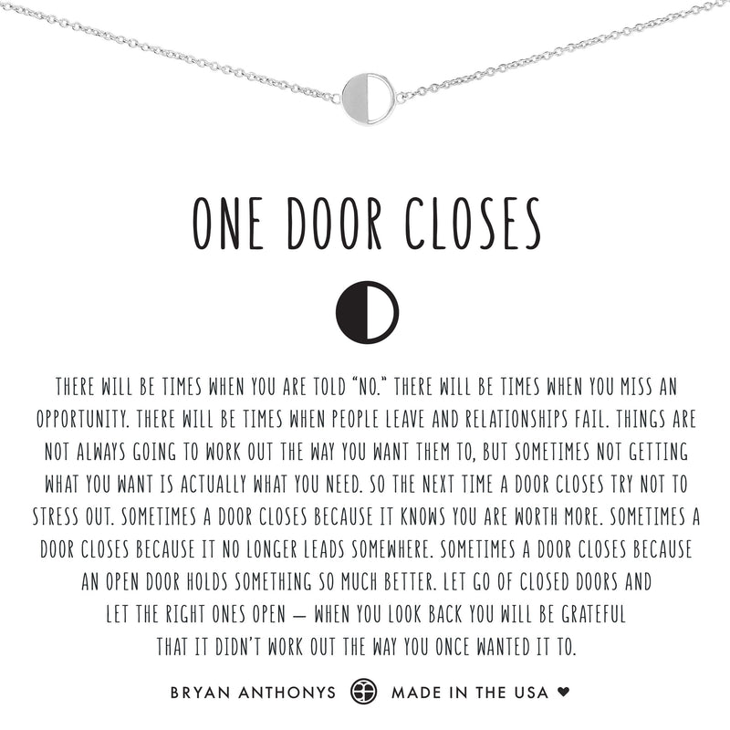 One Door Closes