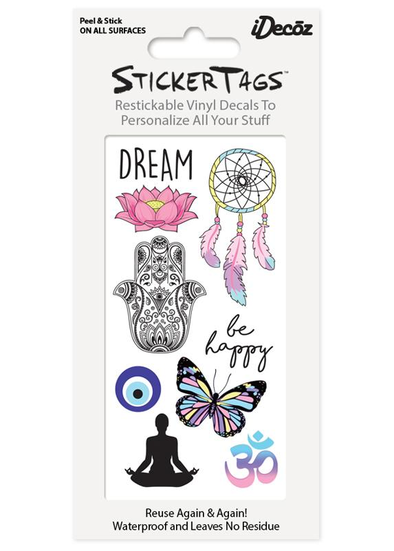 Vinyl Sticker Tag Sets