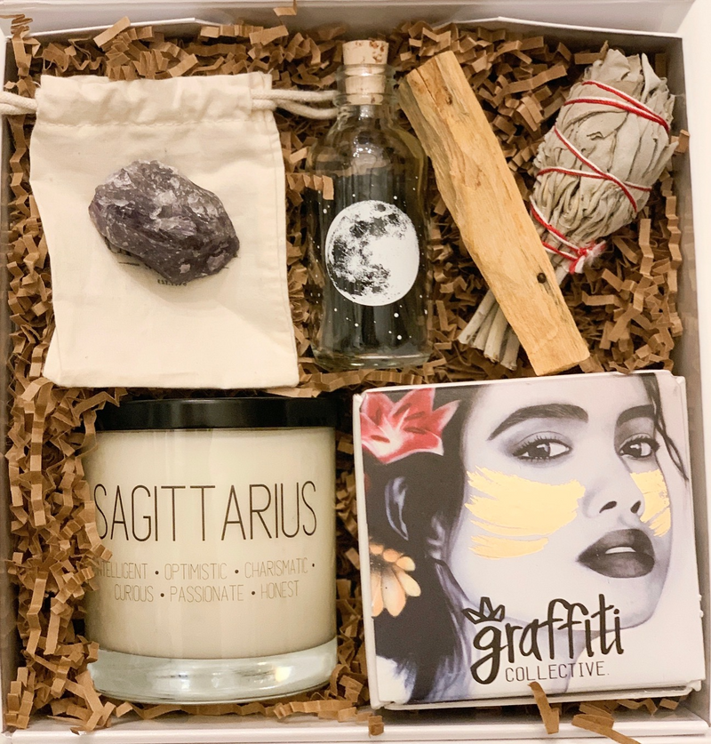 Sagittarius Self-Care Gift Set