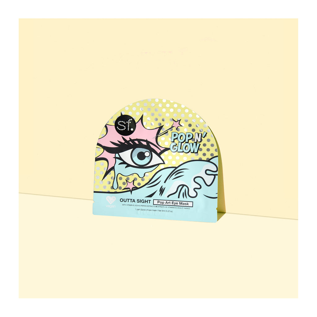 Outta Sight - Pop Art Under Eye Mask