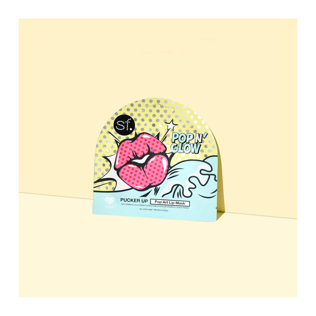 Pucker Up - Pop Art Lip Mask