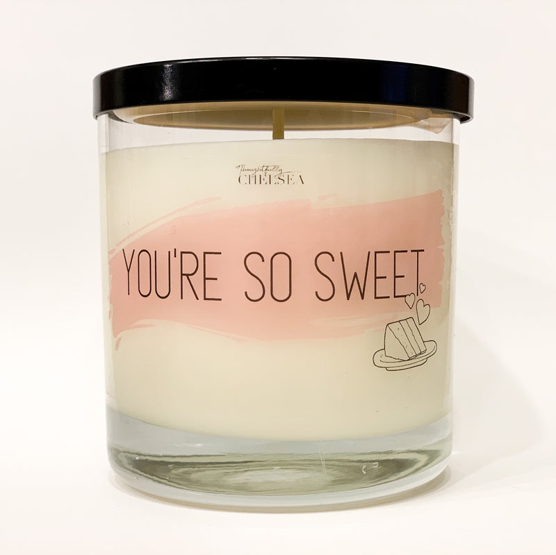 """You're So Sweet"" Lotion Candle - Lavender"