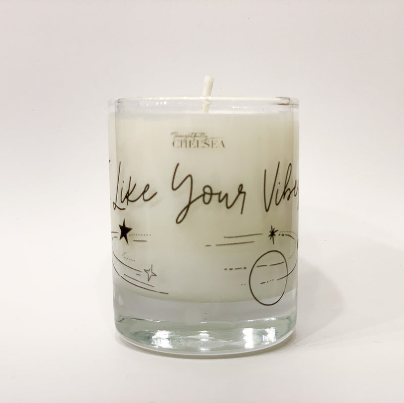 """I Like Your Vibes"" Lotion Candle - Citrus & Sage"