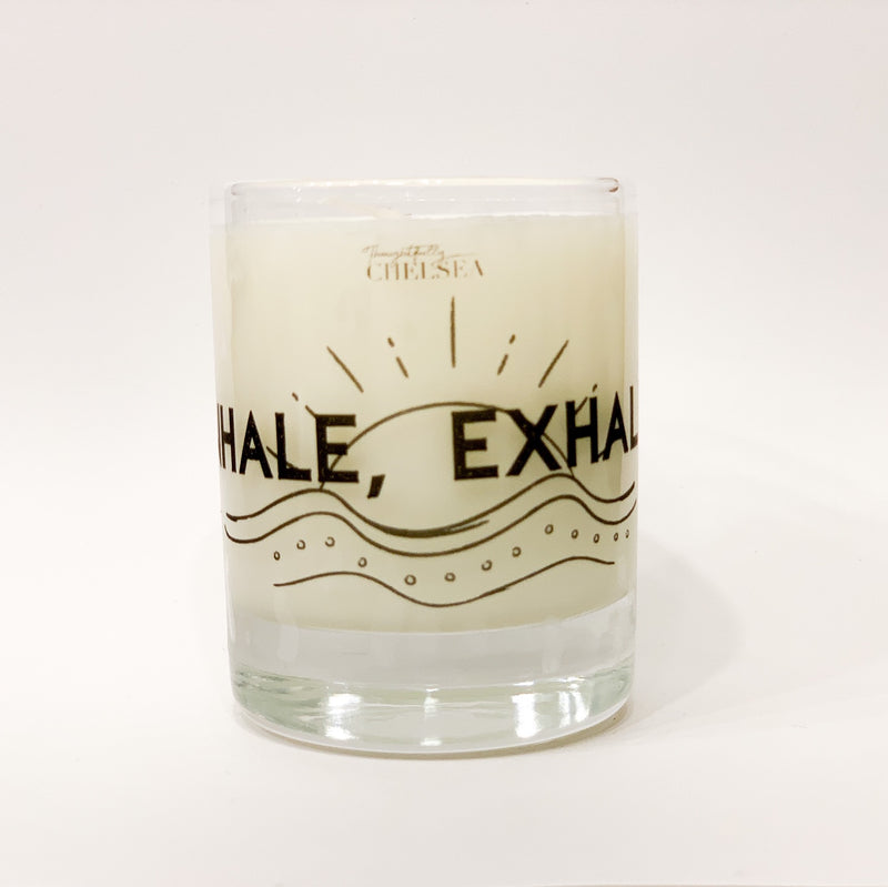 """Inhale, Exhale"" Lotion Candle - Sea Salt"