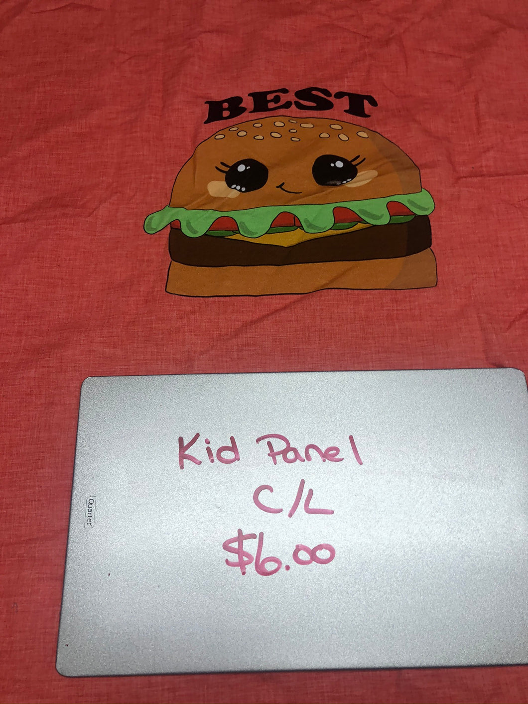 Best Burger Kid Panel, 18x26