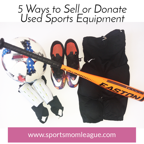 Youth Sports: 5 Ways to Sell or Donate Used Sports Equipment