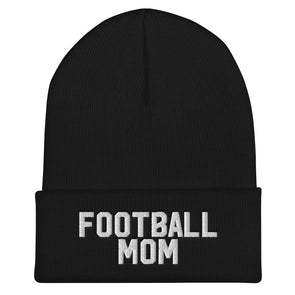 Football Mom Cuffed Beanie