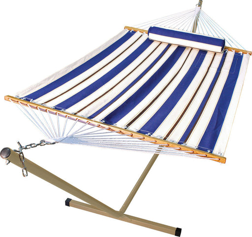 Algoma Net Company - Polyester Fabric Hammock Bed With Stand - Key Pet Supplies