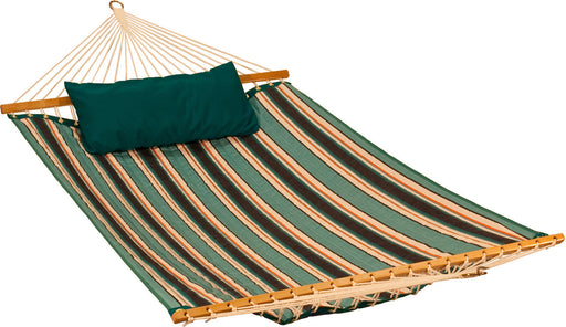 Algoma Net Company - Sunbrella Quilted Hammock W/matching Pillow - Key Pet Supplies