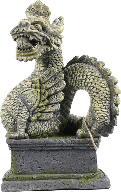 Bio Bubble Pets Llc-Bali Dragon Aquarium Ornament 6.3x4.3x8.1in - Key Pet Supplies