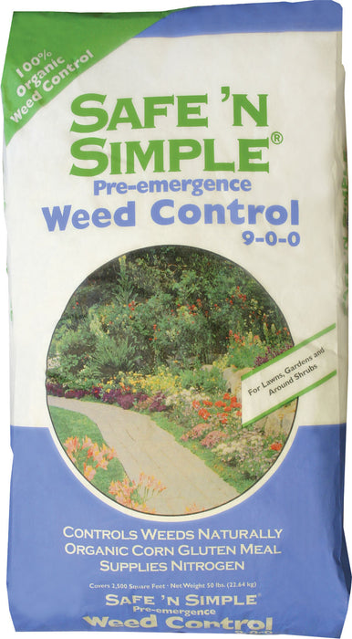 Kent Nutrition Group/bsf - Safe 'n Simple Pre-emergence Weed Control 9-0-0 - Key Pet Supplies