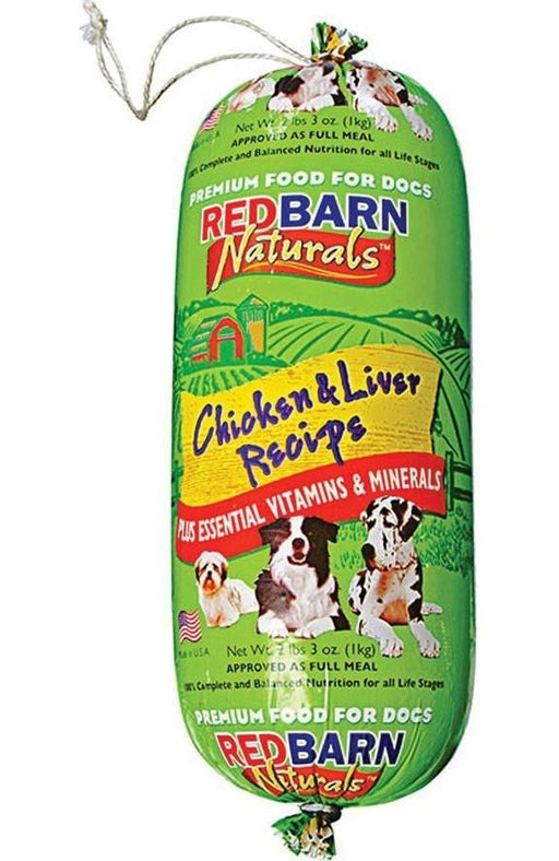 Redbarn Pet Products-food-Natural Roll Dog Food- Chicken 2 Lb - Key Pet Supplies