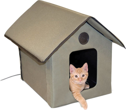 K&h Pet Products Llc - Outdoor Heated Kitty House - Key Pet Supplies