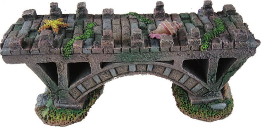 Poppy Pet - Sunken Rock Brick Bridge - Key Pet Supplies