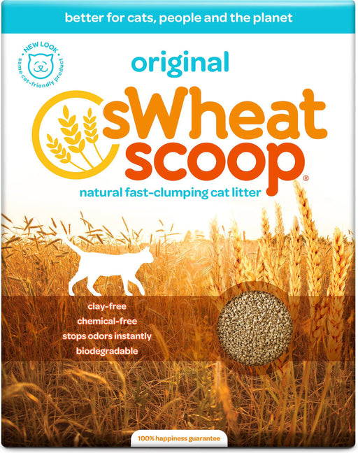Pet Care Systems Inc-Swheat Scoop Wheat Cat Litter 25 Pound - Key Pet Supplies