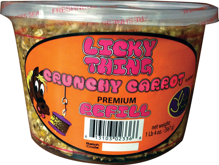 Uncle Jimmys Brand Pr Llc - Licky Thing Treats For Horses - Key Pet Supplies