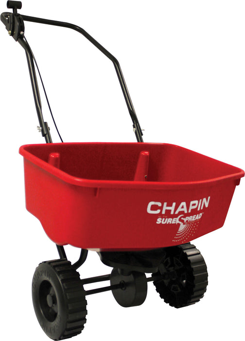 Chapin Manufacturing   P - Sure Spread Residential Push Spreader - Key Pet Supplies