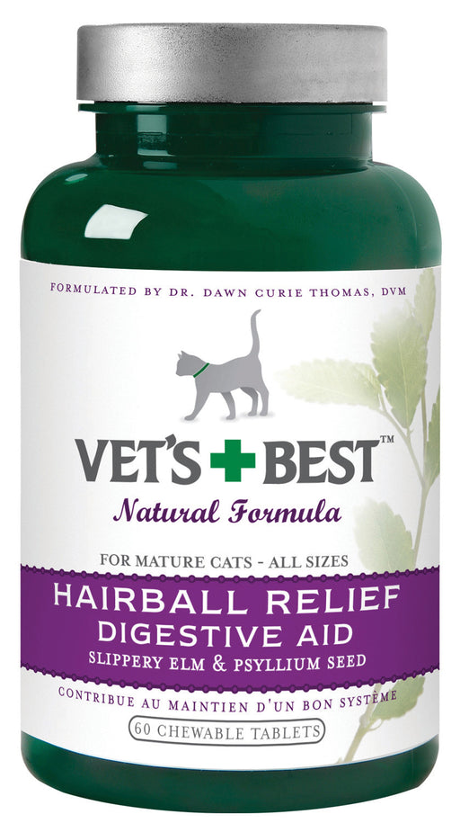 Bramton Company - Vet's+best Hairball Relief For Cats - Key Pet Supplies