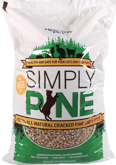 Healthy Pet - Litter - Simply Pine Cracked Pine - Key Pet Supplies