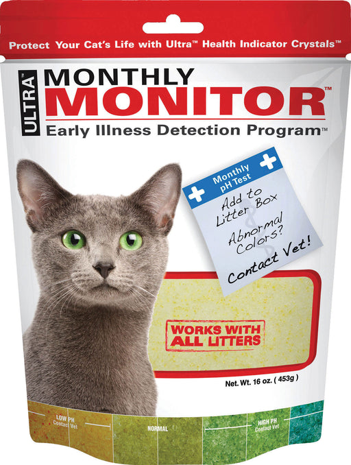 Ultrapet Company Inc - Ultra Monthly Monitor Illness Detection For Cats - Key Pet Supplies
