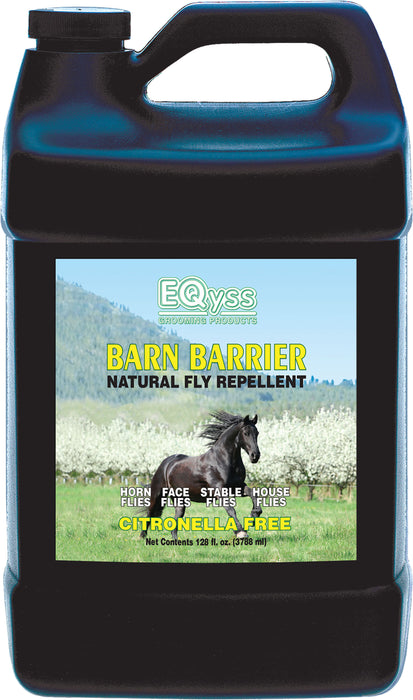 Eqyss Grooming Prod D-Barn Barrier Natural Fly Repellent 1 Gallon - Key Pet Supplies